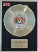 "QUEEN  7"" Platinum Disc   SOMEBODY TO LOVE"